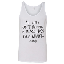 Load image into Gallery viewer, We Are One All Lives White Tank
