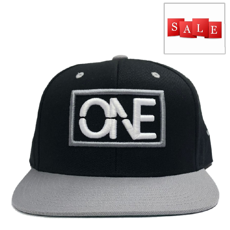 We Are One Black and Grey Flatbill Hat