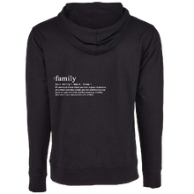 Load image into Gallery viewer, We Are One Black Pullover Family Hoodie