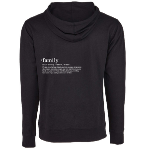 We Are One Black Pullover Family Hoodie