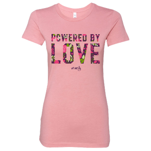 We Are One Ladies Powered By Love Tee