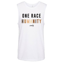 Load image into Gallery viewer, We Are One Humanity White Tank