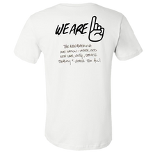 Load image into Gallery viewer, We Are One Humanity White Tee