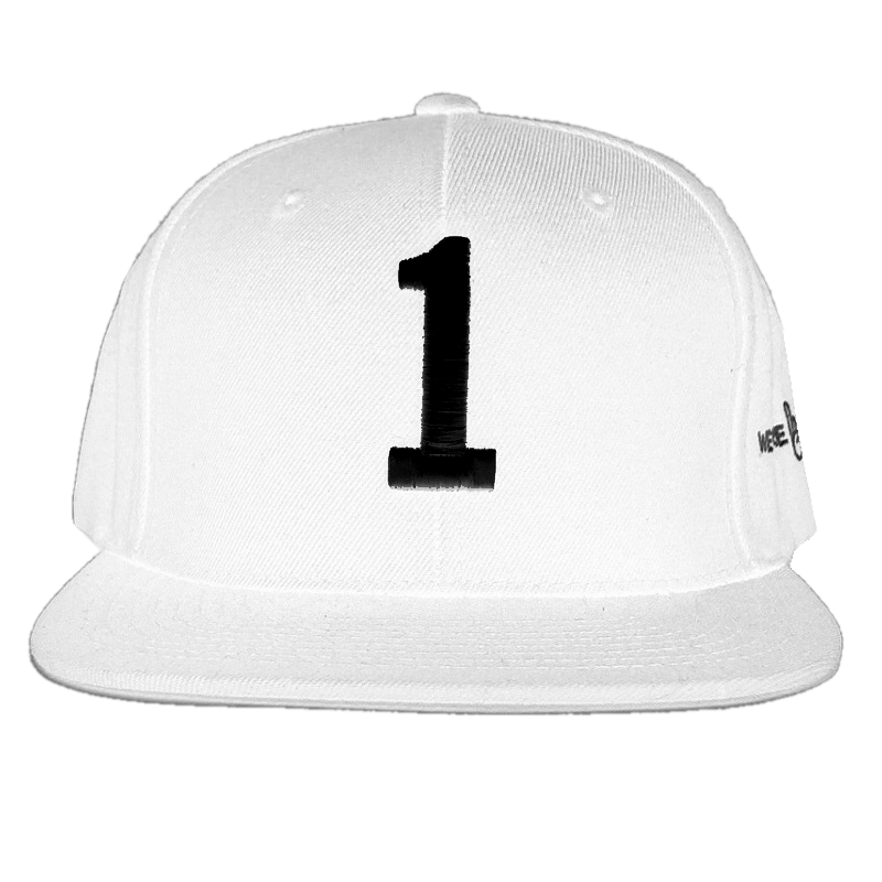 We Are '1' White Flatbill Hat
