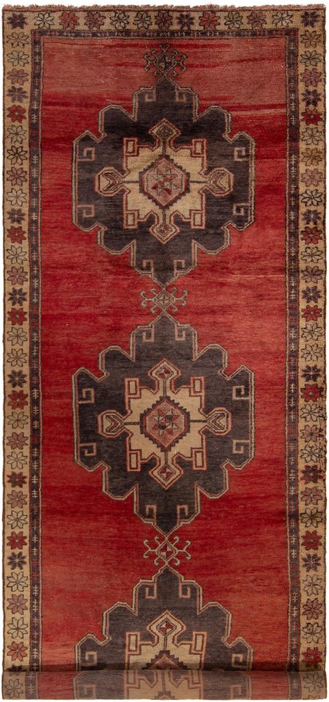 "Hand Knotted Turkish Rug, 4'7"" x 13'1"""
