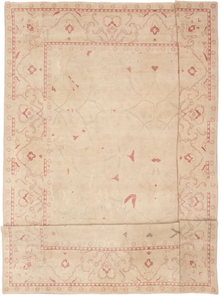 "Hand Knotted Turkish Rug, 12'10"" x 18'11"""