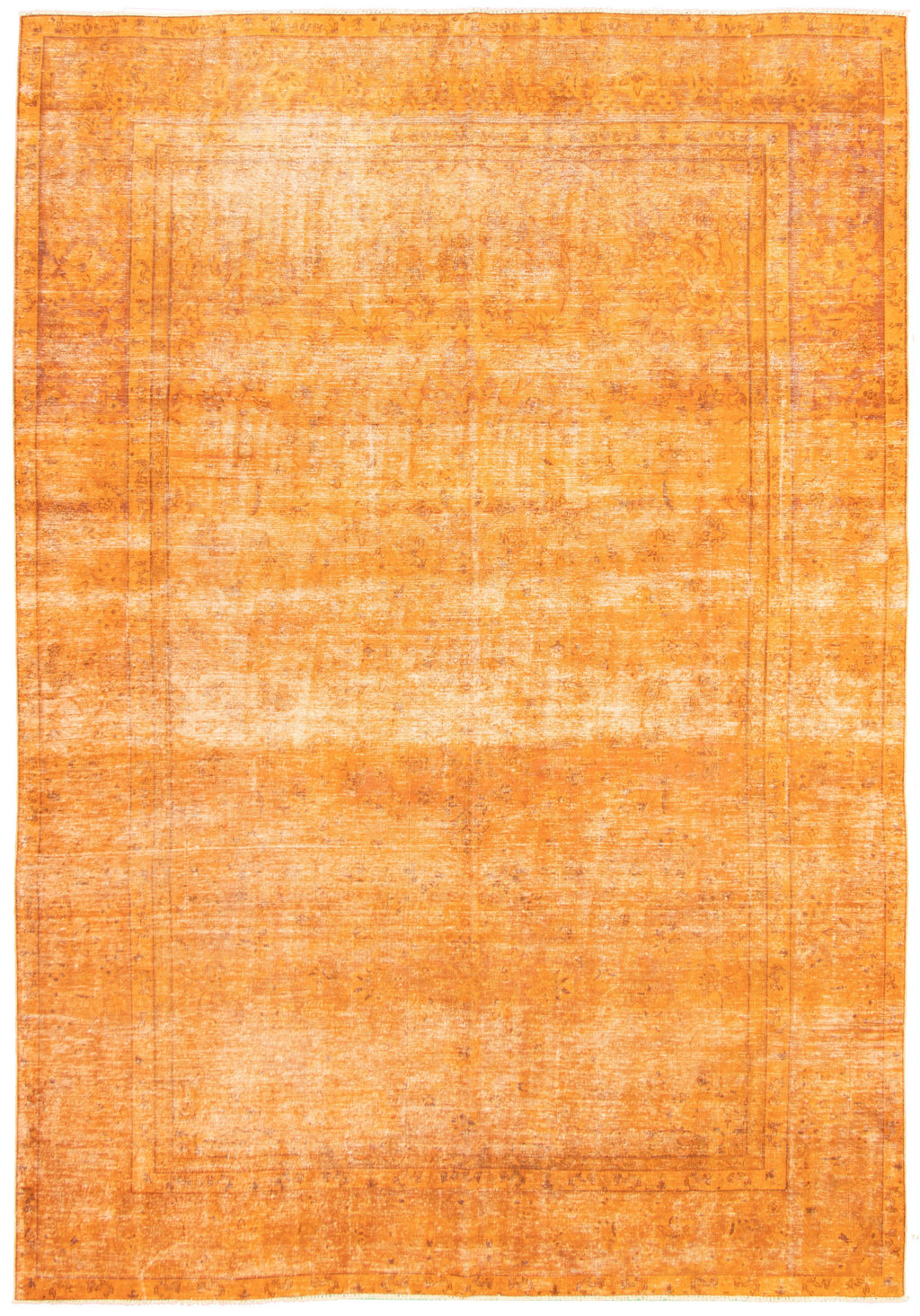 "Vintage Overdyed Rug, 8'9"" x 12'9"""