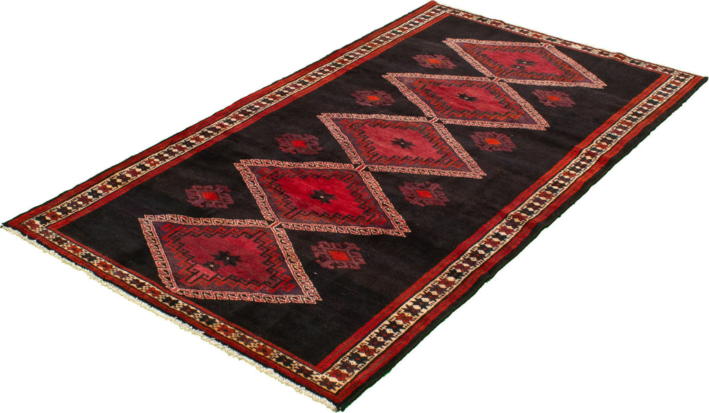 "Turkish Hand-Knotted Rug, 5'1"" x 9'6"""