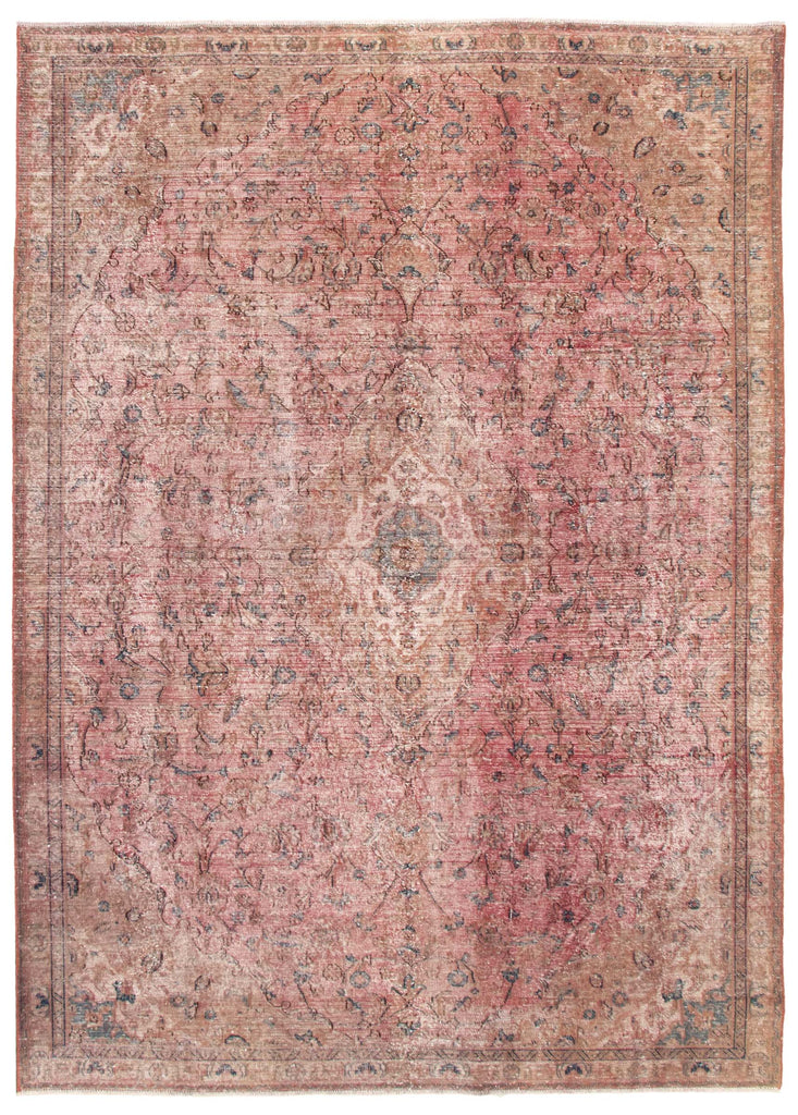"Hand Knotted Overdyed Rug, 7'5"" x 10'3"""