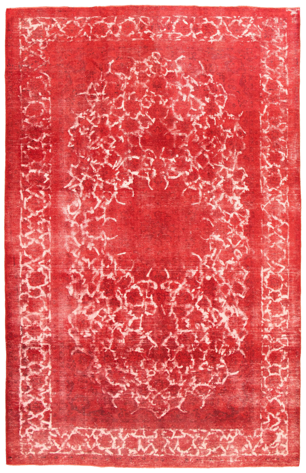 "Hand Knotted Overdyed Rug, 8'0"" x 12'8"""