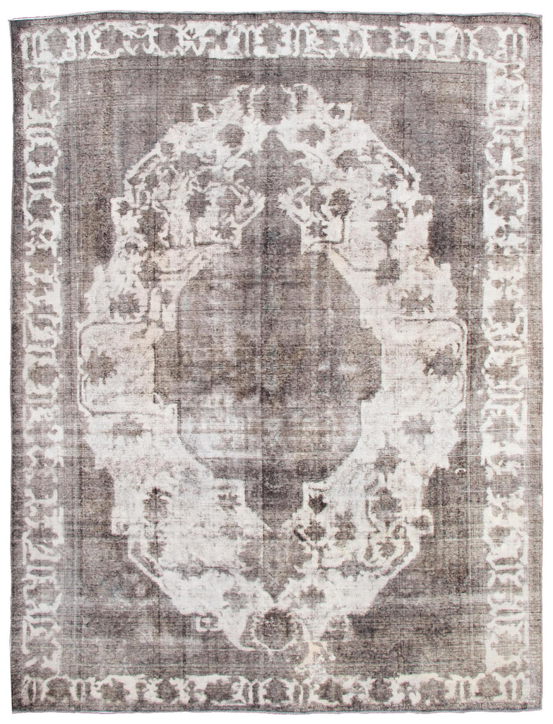 "Vintage Turkish Overdyed Rug, 9'8"" x 12'10"""