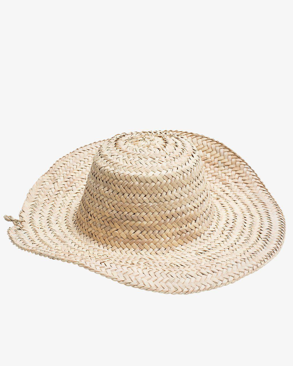 CAPE VERDE, Sun Hat-French Basket-Indigo+Lavender