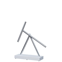 Load image into Gallery viewer, The Swinging Sticks - Desktop Toy - White