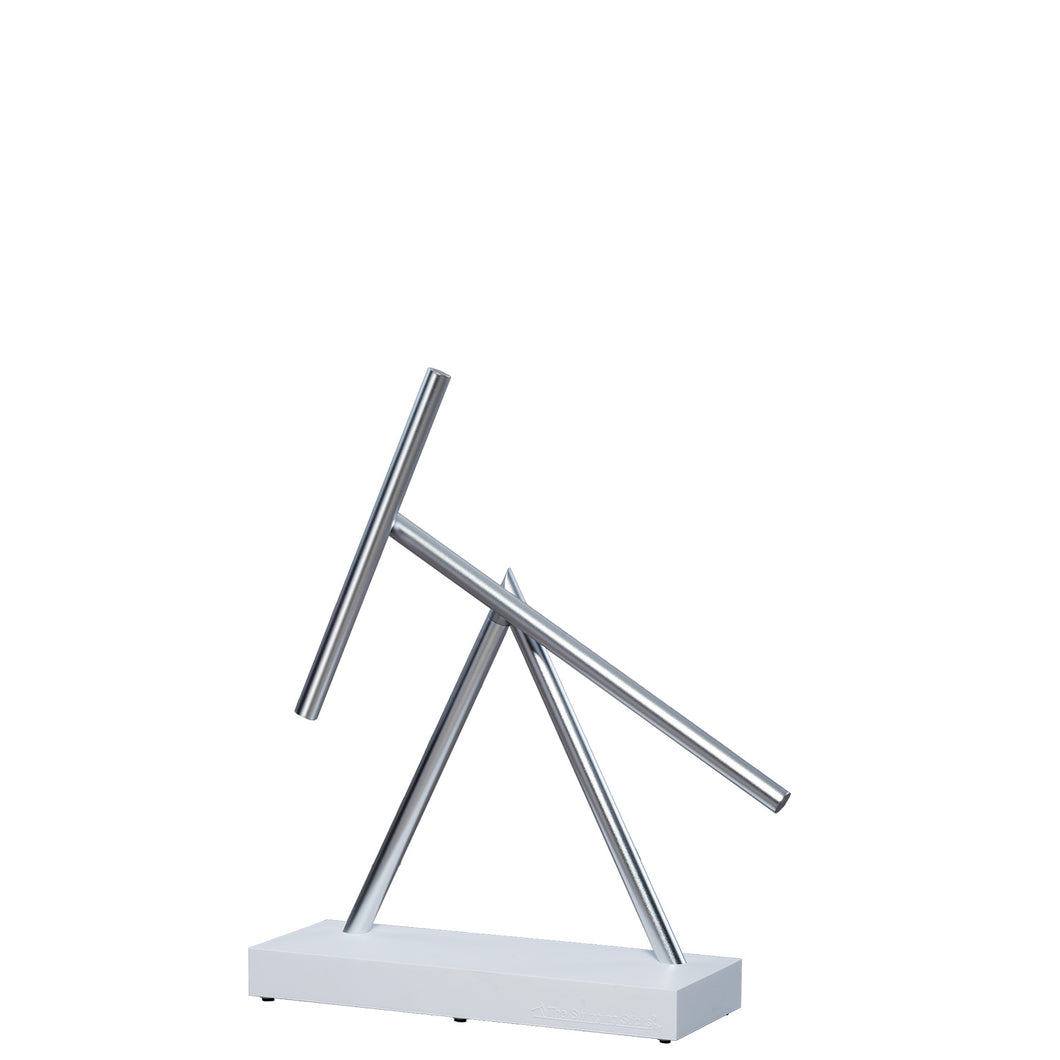 The Swinging Sticks - Desktop Toy - White