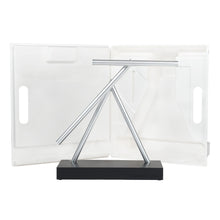 Load image into Gallery viewer, The Swinging Sticks - Desktop Toy - Black