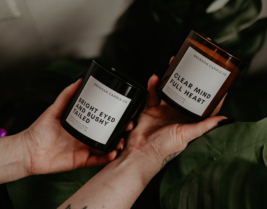 Mood Lifting Duo | Peppermint Eucalyptus and Lemon Mint Candles