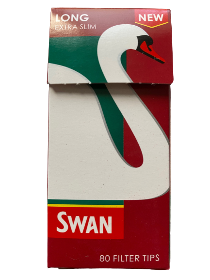 Swan Extra Slim Long Filter Tips (Single)