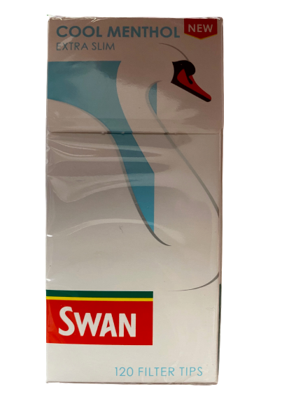Swan Extra Slim Cool Menthol Filter Tips (Single)