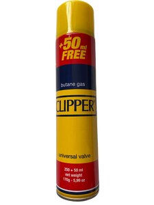 Clipper Butane Gas +50ML Extra Free (300ml)