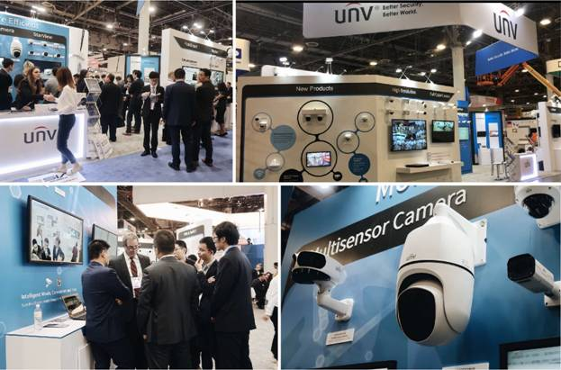 UNIVIEW NEW PRODUCTS and TECHNOLOGIES at ISC WEST 2019 – PAM
