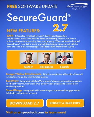 Speco guardian software upgrade