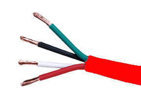 16-4 FIRE WIRE PLENUM RED