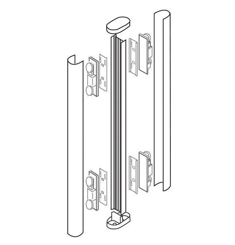 OPTEX AX-ASM Pre-Installation Tower Assembly (Site Plan Required)  **P.O. must include all parts to be assembled** - PAM Distributing Co - 1