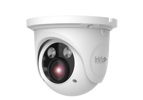 INNOVATIVE 8 Megapixel Outdoor Turret, 2.8-12mm Motorized