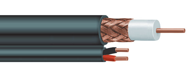 RG 59U With Siamese 18-2 Power Cable for CCTV - PAM Distributing Co