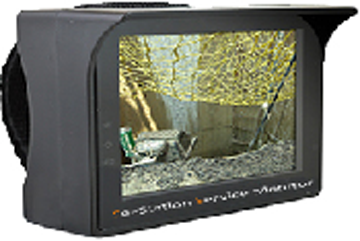 SeeStation 3.5 Inch TFT-LCD CCTV Analog Test Monitor - PAM Distributing Co