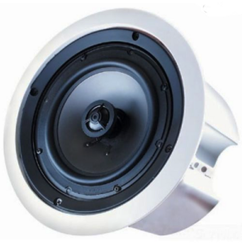Speco CEILING SPEAKER Enclosed 35W, Color White or Black, (Sold In Pairs) - PAM Distributing Co