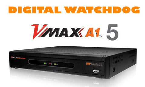 Digital Watchdog DW-VAONE41T 4 Channel Multi-Technology 1080P DVR w 1Tb HD - PAM Distributing Co