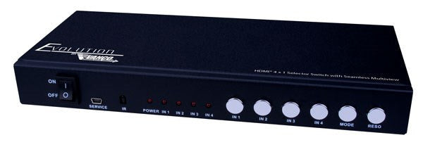 Vanco Evolution HDMI® 4 x 1 Selector Switch with Seamless Switching and Multiview - PAM Distributing Co - 2