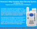 FREEDOM ALERT PERSONAL EMERGENCY RESPONSE SYSTEM - PAM Distributing Co - 4