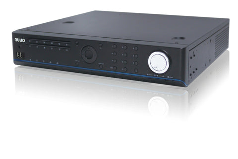 NUUO SOLO NVR 16 IP Channel with 8 Hard Disk Bays (32Tb Max Storage) - PAM Distributing Co