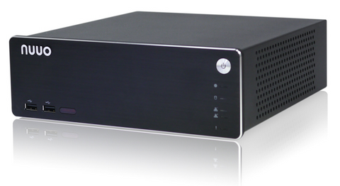 NUUO SOLO NVR 8 IP Channel / 8 IP License & 1 Hard Disk Bays (4Tb Max Storage) - PAM Distributing Co