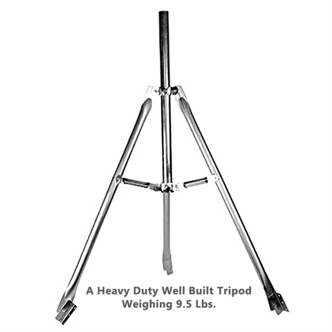 "TRIPOD 3' Heavy Duty with 1 3/4"" x 28"" Mast - PAM Distributing Co"