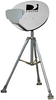 "TRIPOD 3' WITH 2"" x 24'' POLE - PAM Distributing Co - 1"
