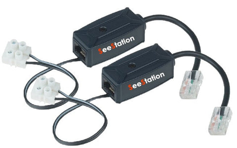 SEESTATION EP01 (POE) Power Over Ethernet UTP Cat5/5e/6 (Passive 2 Pc Set) - PAM Distributing Co