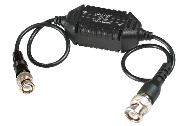 SEESTATION GL001H Coaxial Video Ground Loop Isolator, High Performance - PAM Distributing Co