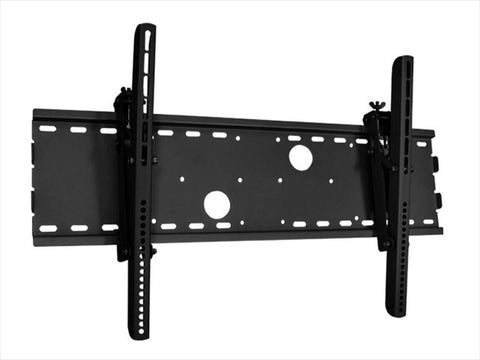 "30-63"" Tilt Wall Mount Bracket for LCD LED Plasma (Max 165 lbs, 30~63 inch), BLACK, UL Certified - PAM Distributing Co"
