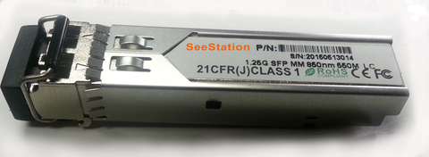SeeStation - LC LC FIBER MM CONNECTOR - PAM Distributing Co