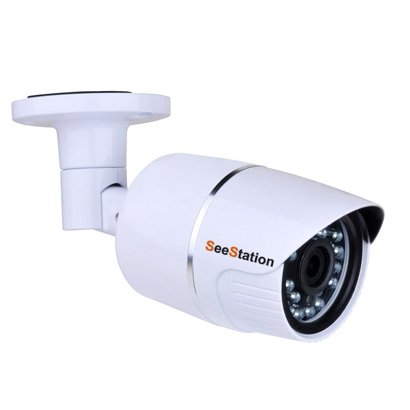 SeeStation (AHD) BULLET CAMERA 2MP/1080P Analog High Definition 3.6mm AI LENS 12VDC - PAM Distributing Co