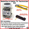 Satellite & Cable TV Technician Installation Kit