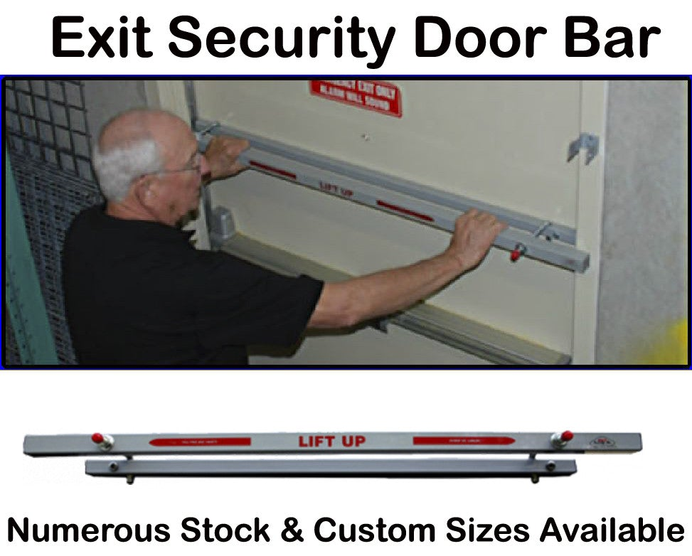 "Door Bar 48"" Exit Door Security Bar (Out Swing)"