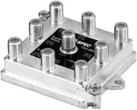 Splitter 8-Way Vertical 5-900MHz (Closeout) - PAM Distributing Co