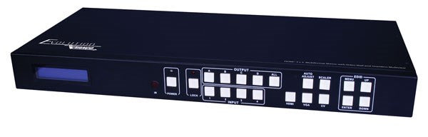 VANCO Evolution HDMI® 4 x 4 Selector Switch with Seamless Switching and Multiview