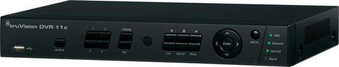 INTERLOGIX TVR-1104C-500 TRUVISION H.264 4 CHANNEL DVR w 500GB HARD DISK - PAM Distributing Co