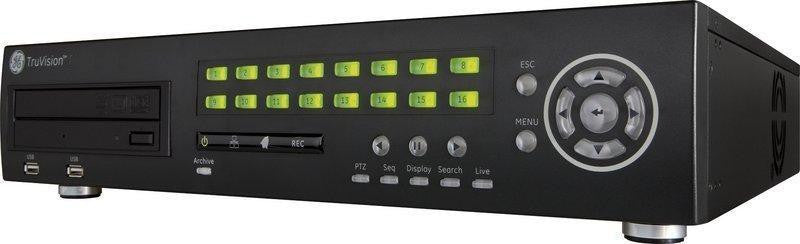 INTERLOGIX TVR3116-2T TRUVISION DVR 16 CHANNEL w 2TB HARD DISK - PAM Distributing Co