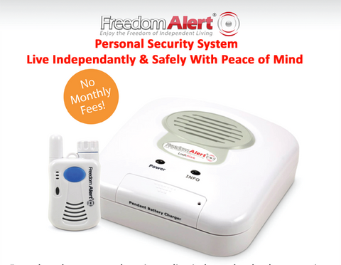 FREEDOM ALERT PERSONAL EMERGENCY RESPONSE SYSTEM - PAM Distributing Co - 1